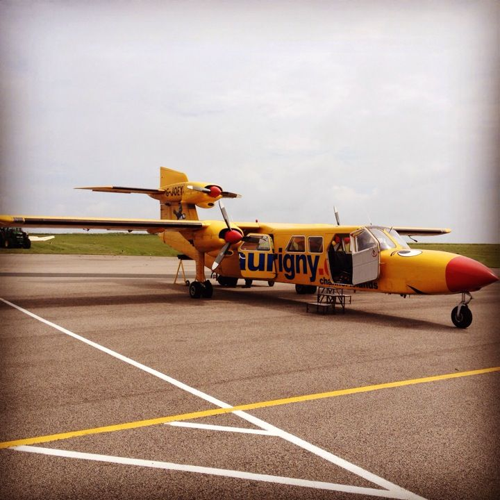 Alderney Airport In Alderney Channel Islands Guernsey A Place To
