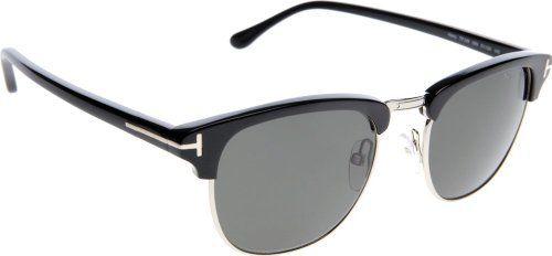 538fdebb7bcf Tom Ford Henry FT0248 Sunglasses - 05N Shiny Rose Gold/Black (Gray Green  Lens) - 51mm Tom Ford. $264.95. Save 39%!