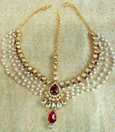 I found this beautiful design on Mirrawcom Indian jewellery