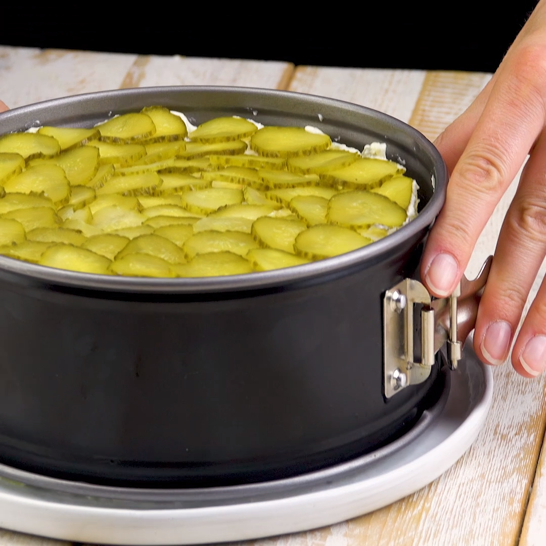 Kartoffelsalat-Kuchen #schnelletortenrezepte