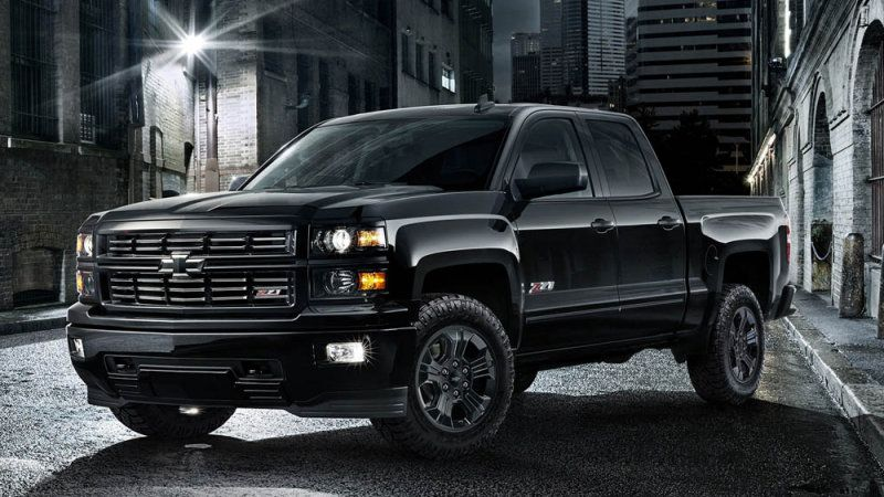 chevy silverado midnight edition coming to chicago 2015 silverado chevrolet silverado and rally. Black Bedroom Furniture Sets. Home Design Ideas