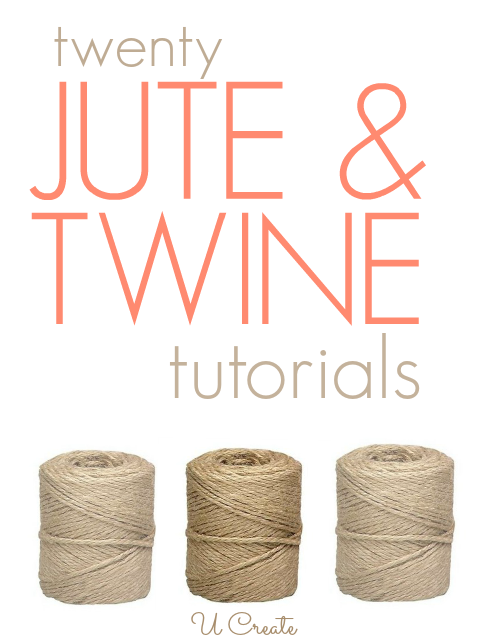 20 Jute and Twine Tutorials | Homemade products | Twine