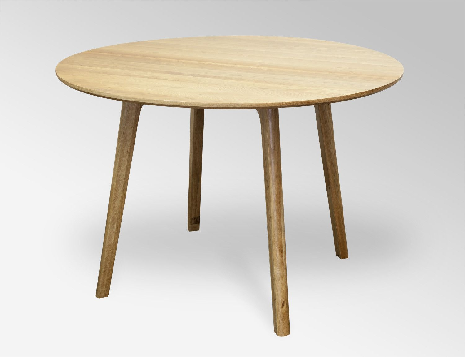 Convair Oak Round Dining Table | Temple & Webster | Dining Table ...