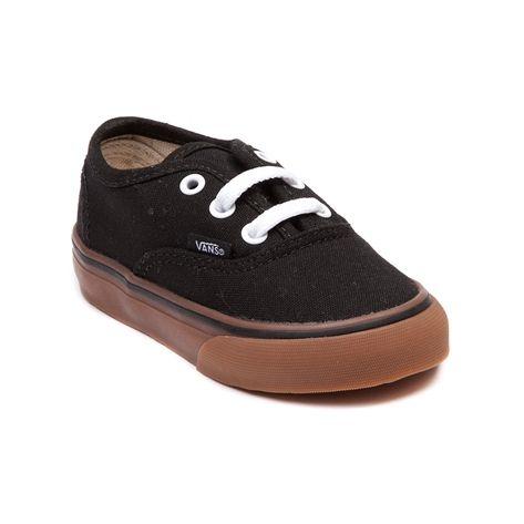 vans toddler black