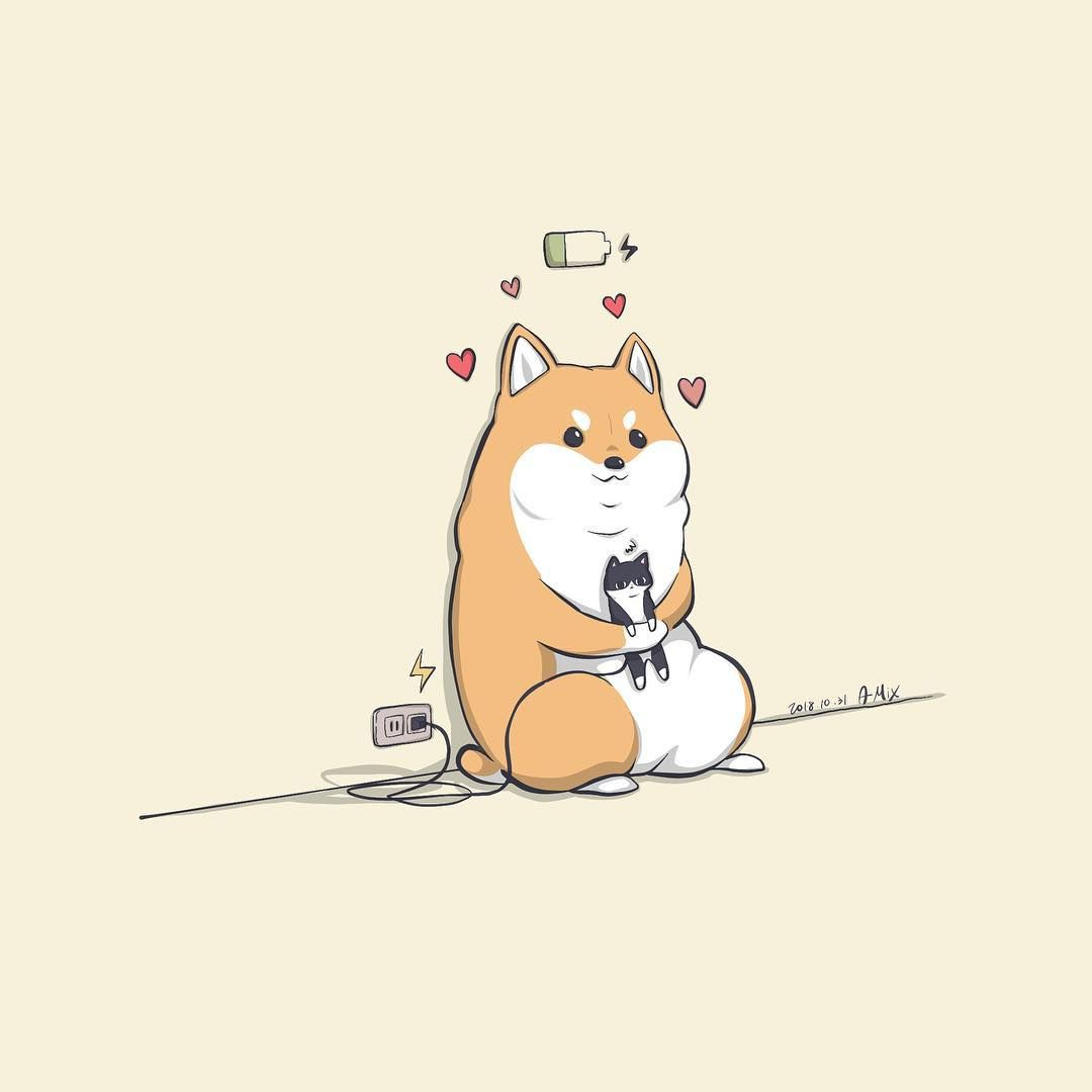 Shiba Dog Funny Pets Animals Cute Art Shiba Inu Anime Art