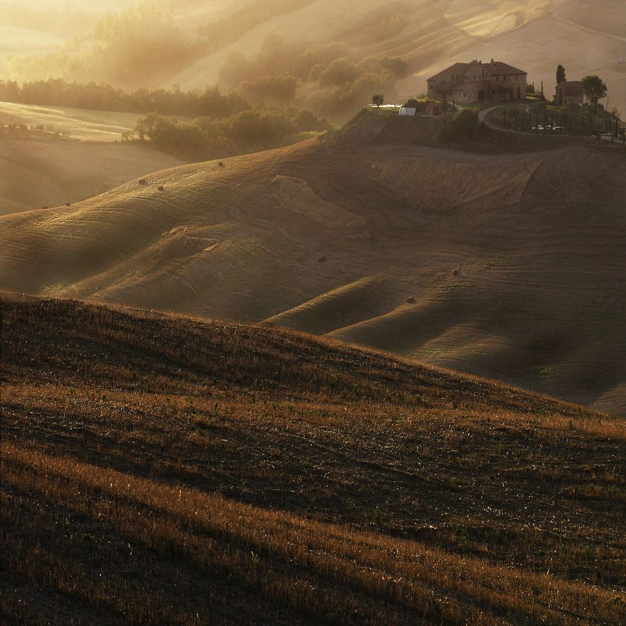 Warm summer and atmosphere of a Tuscan afternoon.