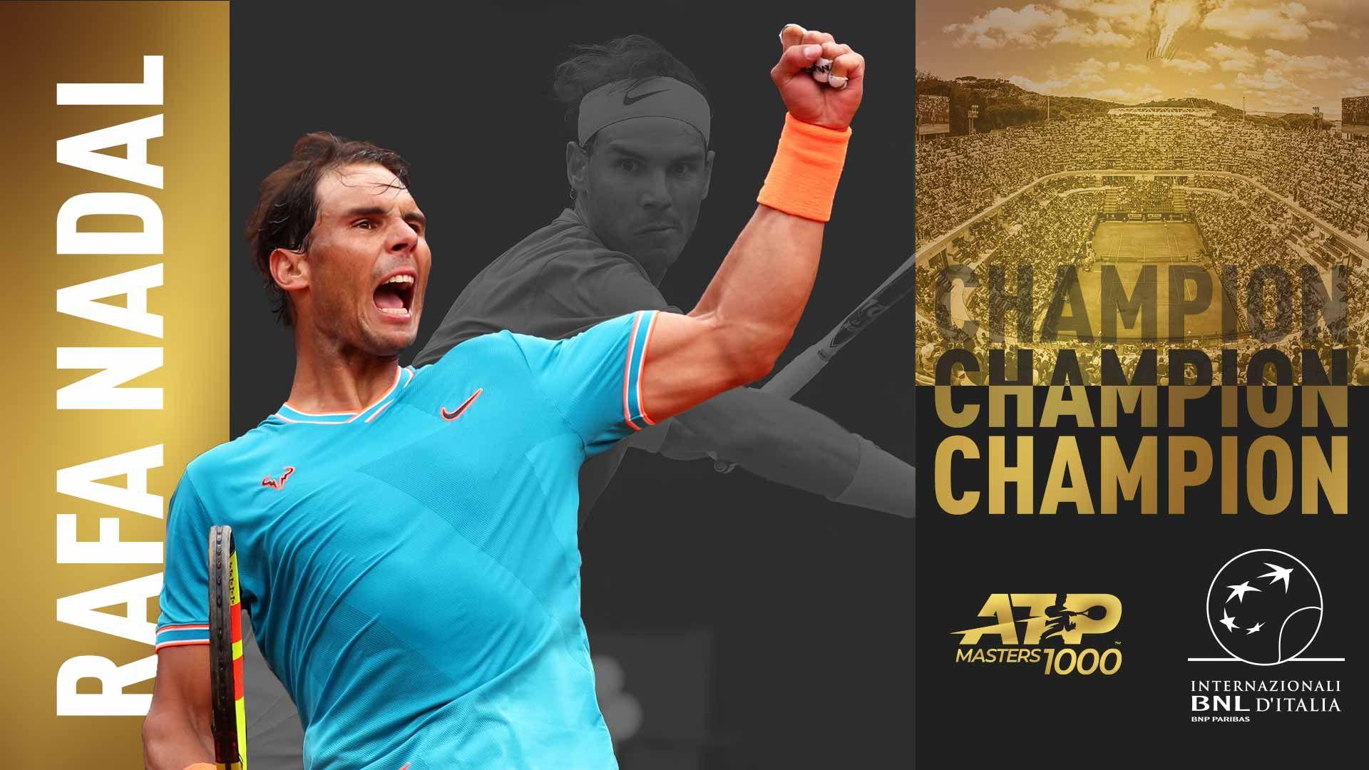 Updates Novak Djokovic Takes Second Set From Rafael Nadal In Rome Final Atp Tour
