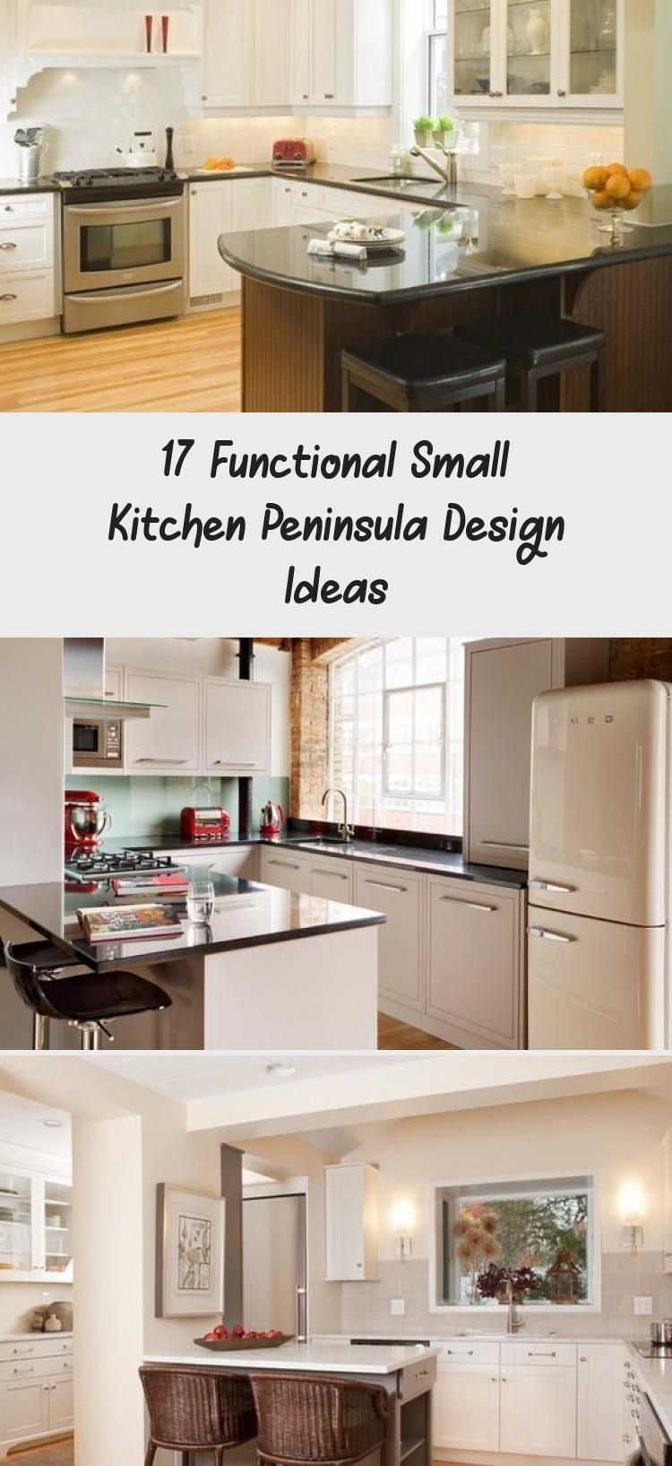 9 Functional Small Kitchen Peninsula Design Ideas ...