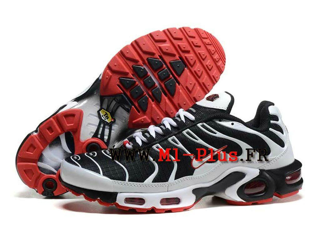chaussure nike blanc rouge