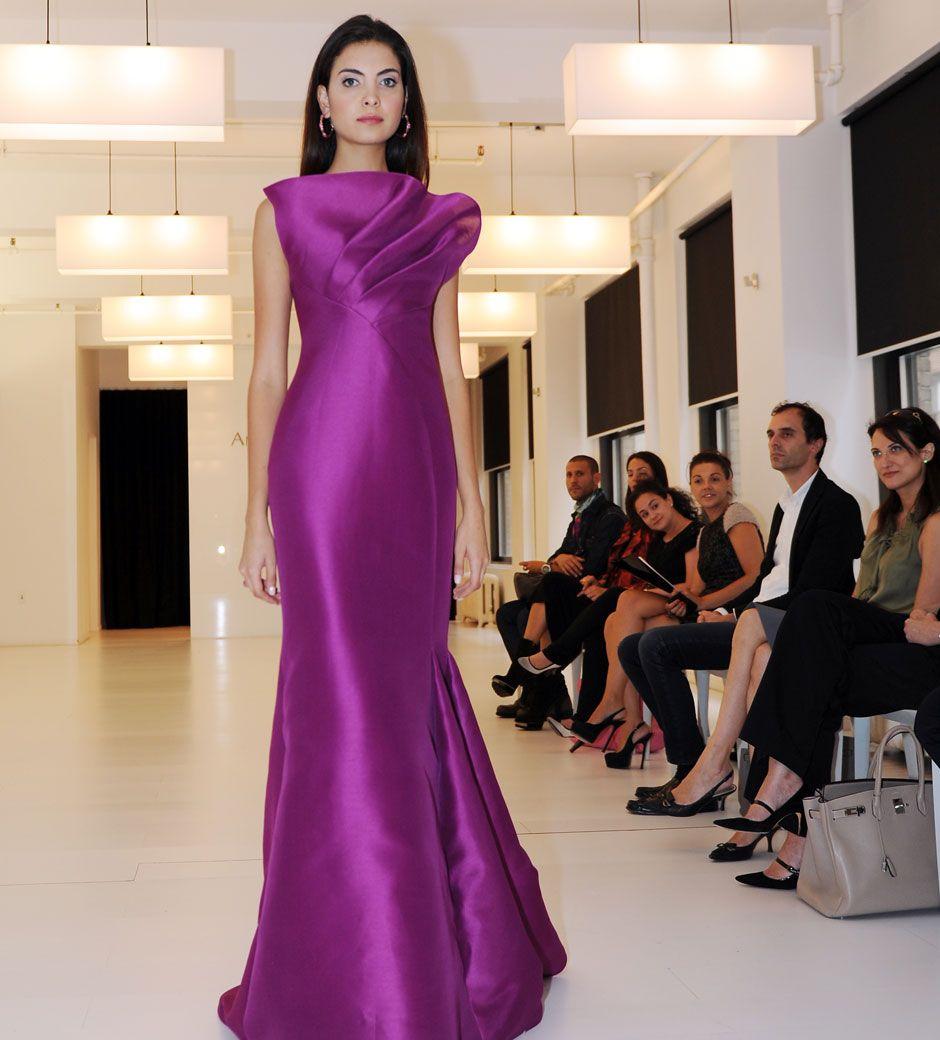 Fashion, beautiful Magenta Dress #2dayslook #MagentaDress ...