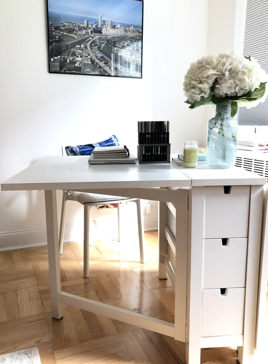 12 IKEA Norden Gateleg Table  Ikea dining table, Small spaces