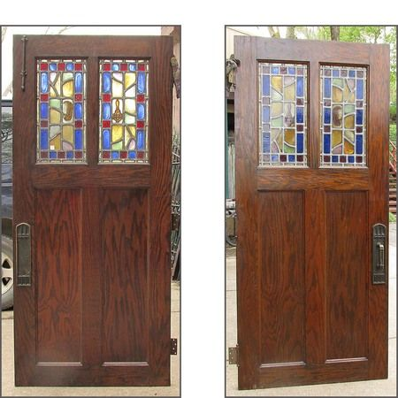 Antique Tudor Oak Interior Door 36 X 80 Httpspinterest