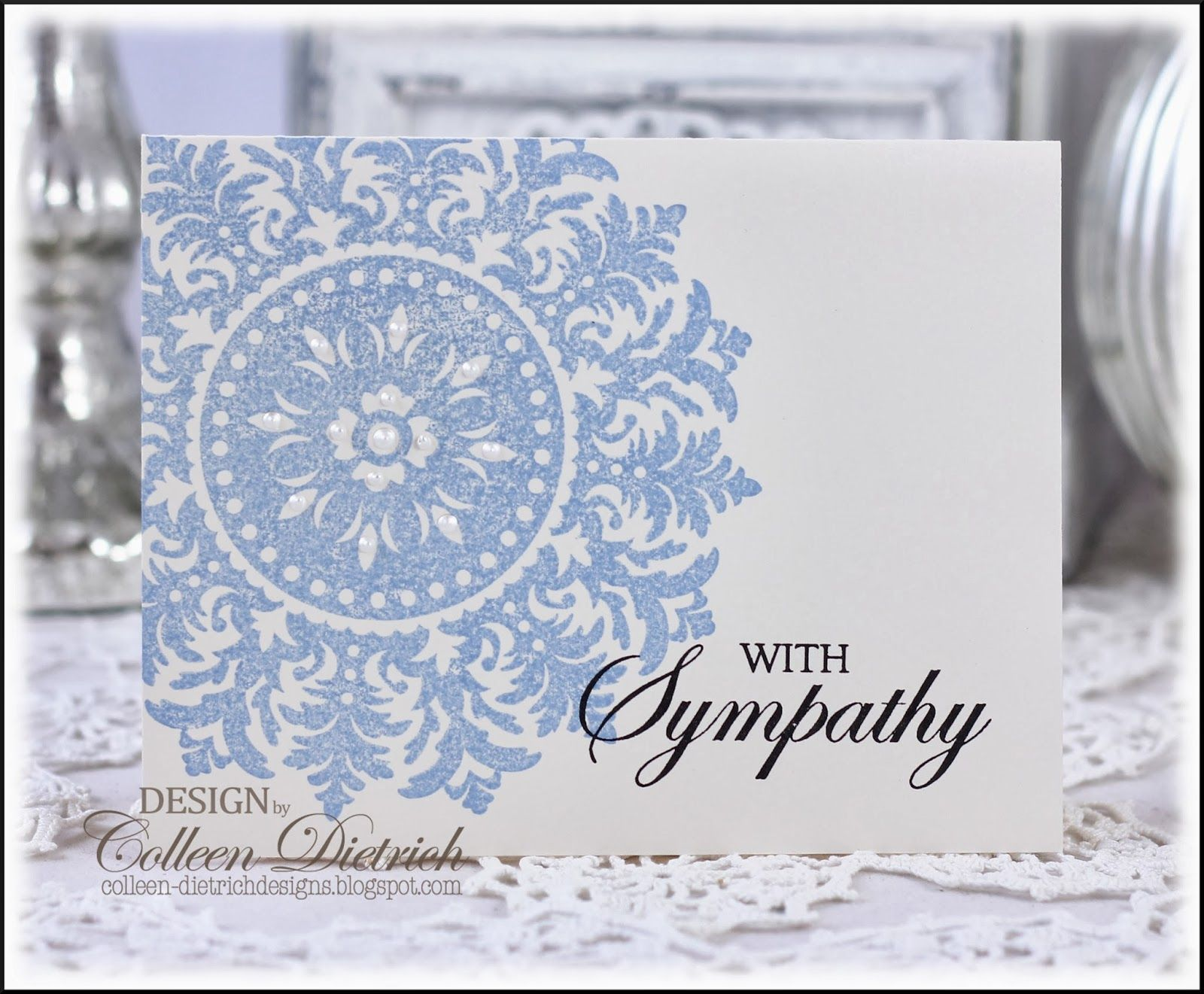 Some of the quickest sympathy cards ever dietrich designs one layer