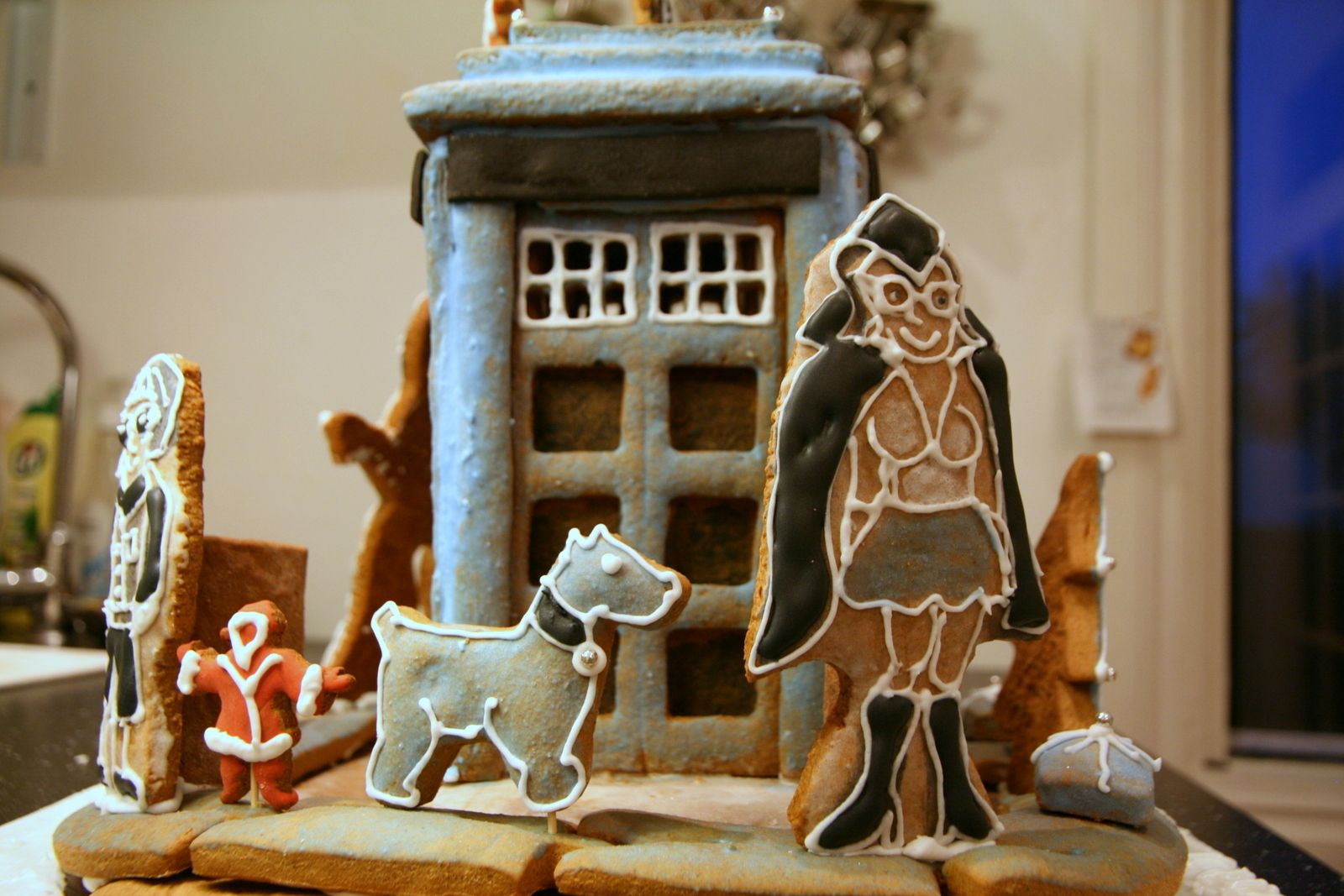 TARDIS https://www.facebook.com/gingerbreadhousecompany
