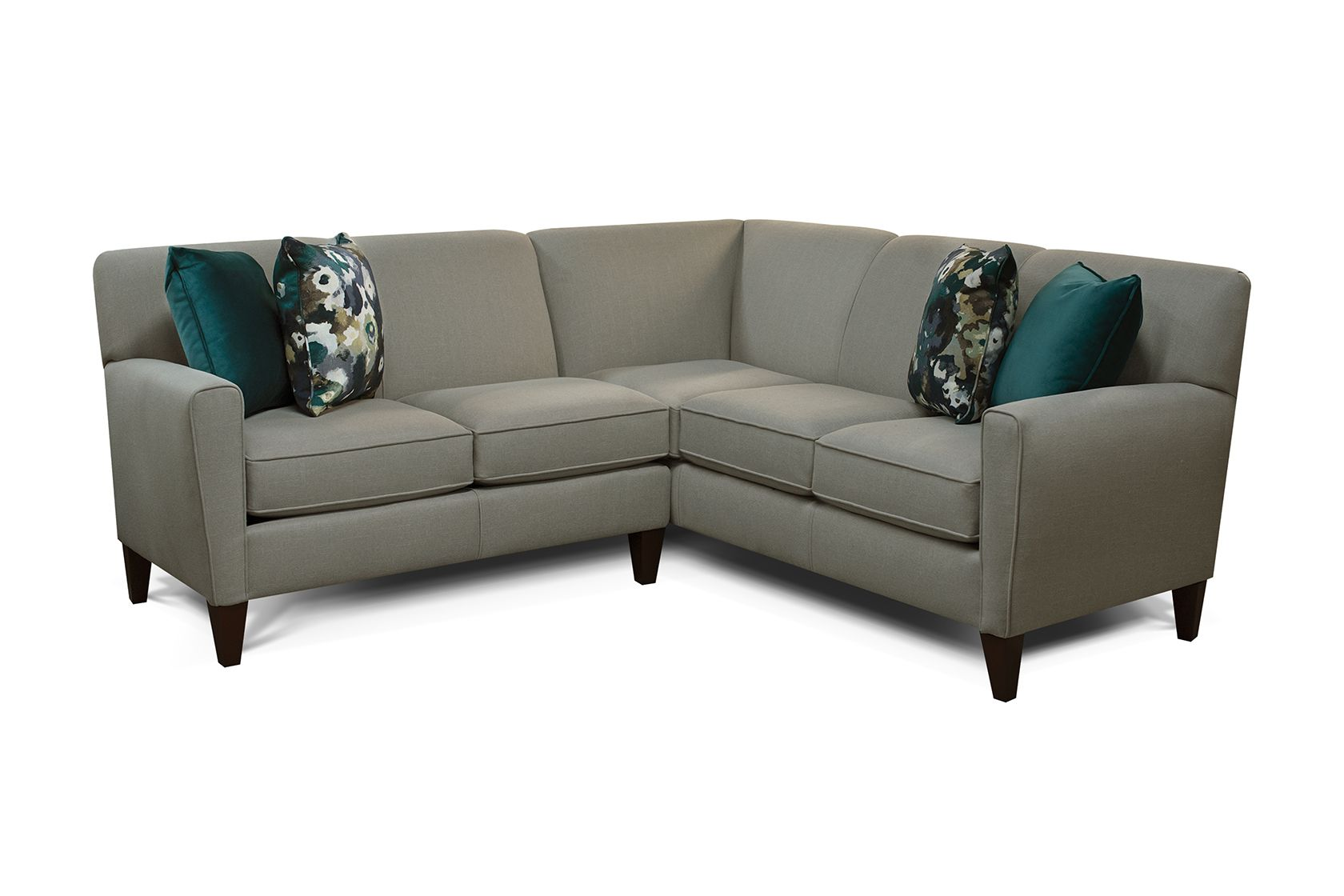 The Collegedale Sectional. Mid-century modern styling for ...