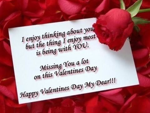 Valentine Day Quotes Images And Wishes For Him Valentines Day