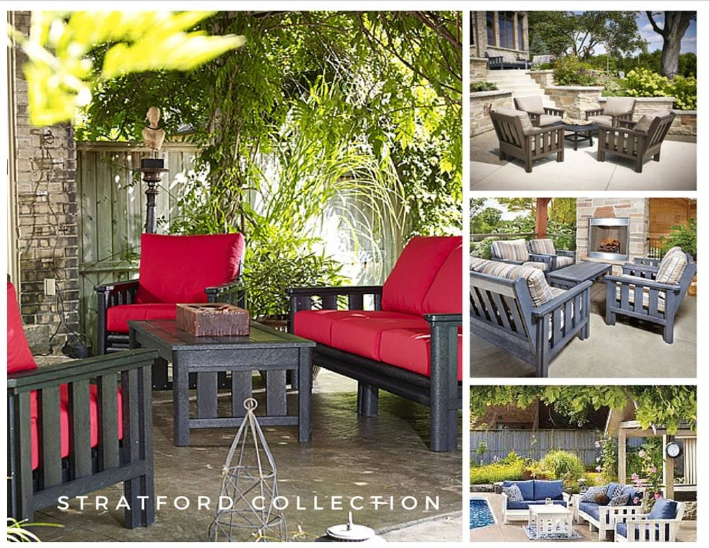 Outdoor Living with Stratford  St  Tropez or Generation Adirondack Styles    DJs Solid Wood. Outdoor Living with Stratford  St  Tropez or Generation Adirondack