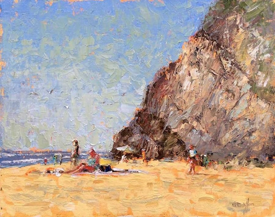 5 Tips From A Plein Air Painting Pro Painting Landscape Paintings Psychedelic Art