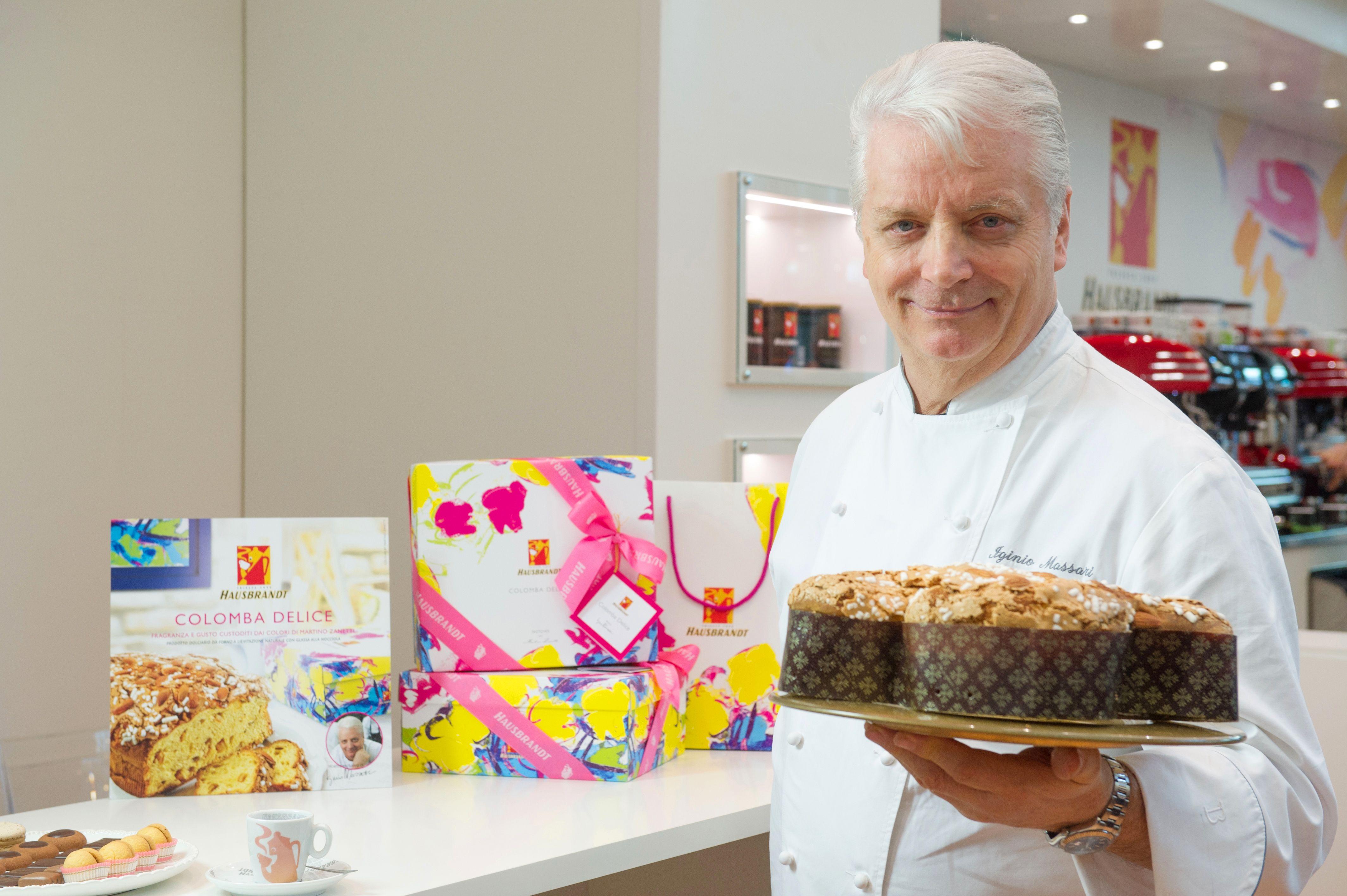 Ecco la Colomba Delice 2016, firmata per Hausbrandt dal Maestro dei Maestri Pasticceri Iginio Massari. See our Colomba Delice, reinvented for Hausbrandt by the Maestro of Master Pastry Chefs Iginio Massari.
