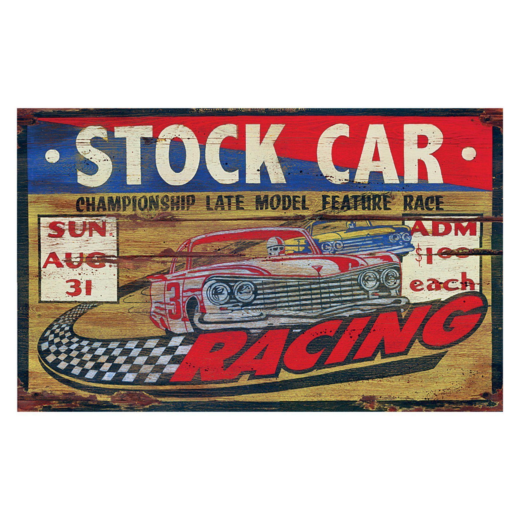 Stock Car Racing Wall Art - PP-1034