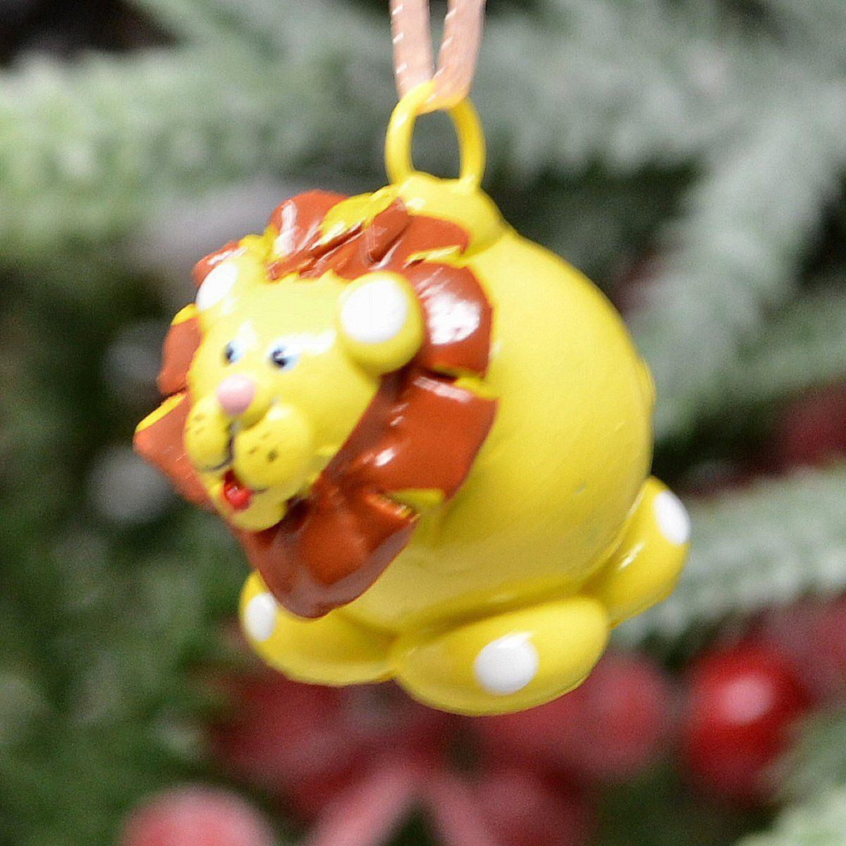 Lion Marble Ornament | Ornaments, Christmas ornaments