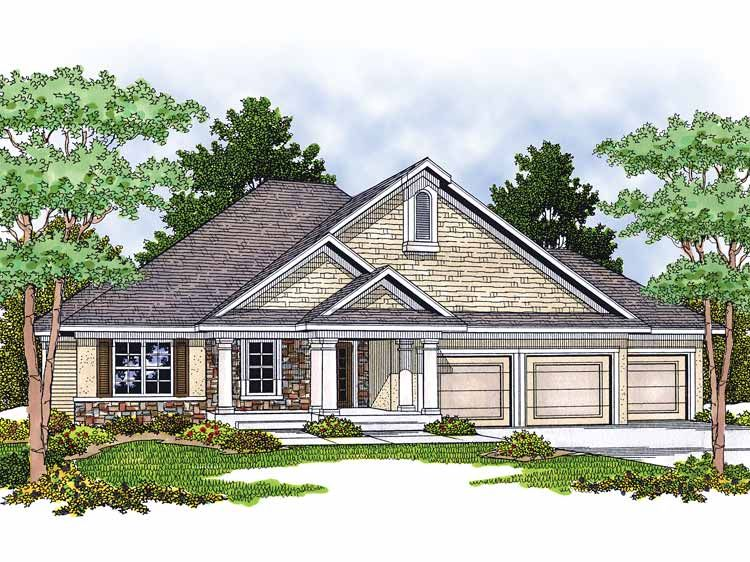 Ranch style house addition plans home plans homepw01554 for Ranch house addition plans