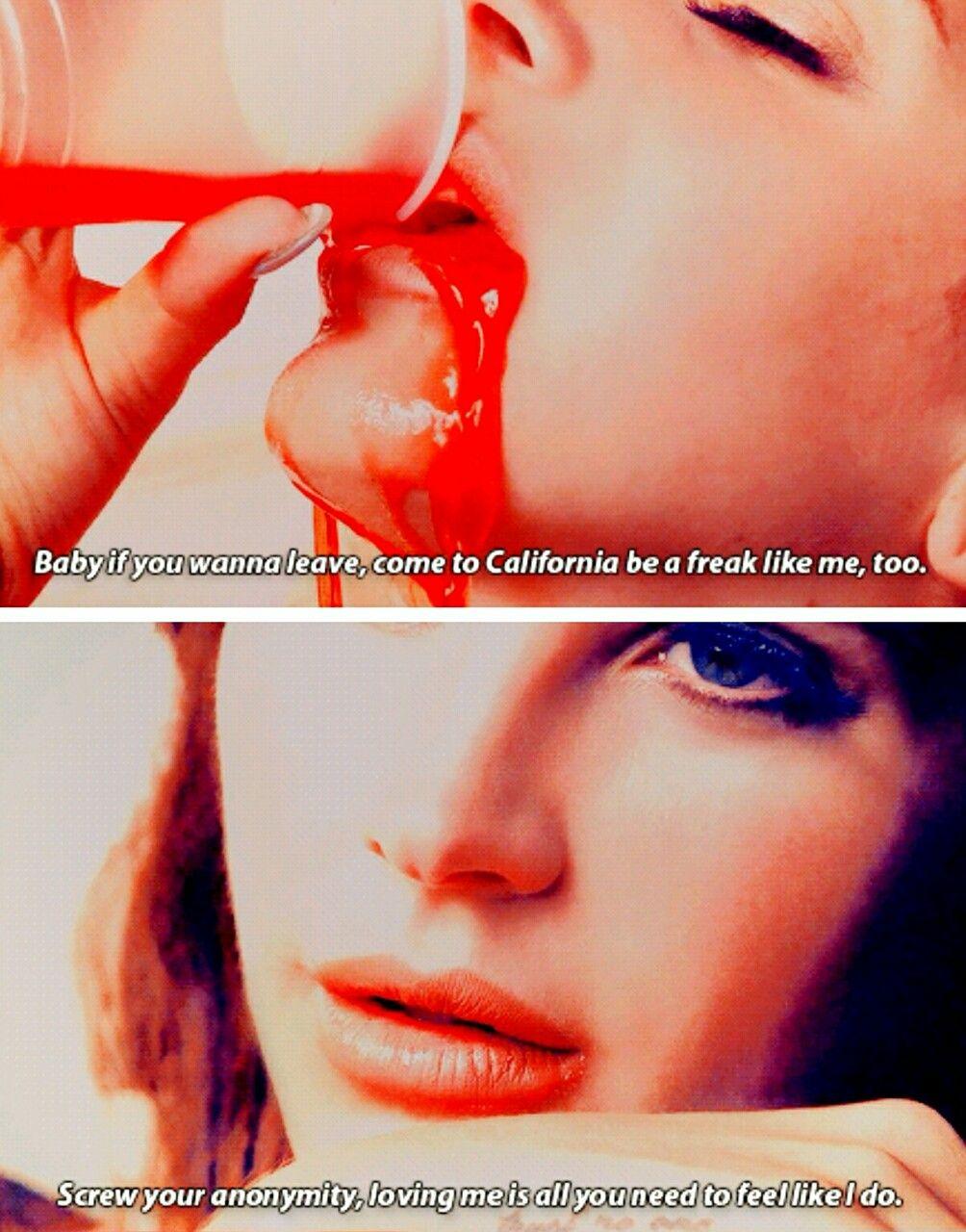 Lana Del Rey Ldr Freak Lana Del Rey Lyrics Lana Del Rey Lana Del