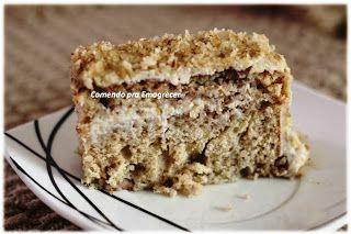 Comendo pra Emagrecer: Torta de Nozes do Meu Aniversário