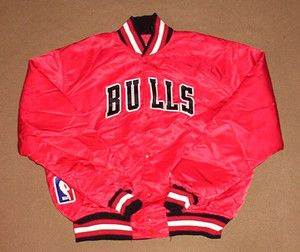 d3ed2620ebb66a Vintage Chicago Bulls Starter Jacket!!! Daddy Still gots his after all  these years!