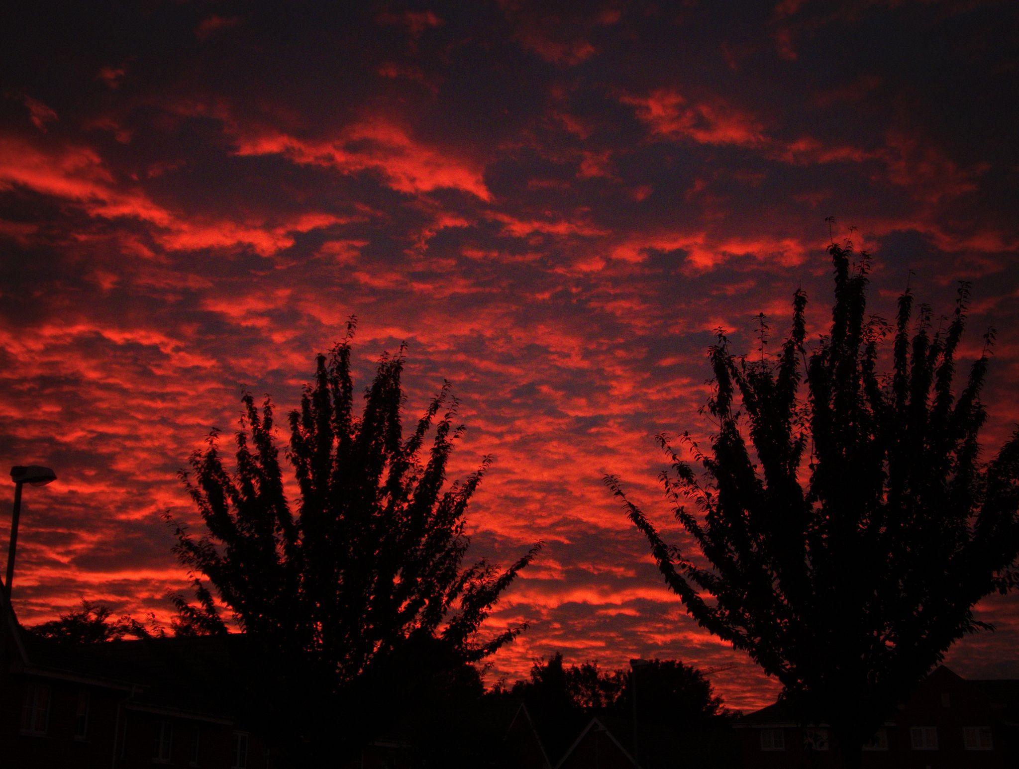 https://flic.kr/p/Mdq7J1 | RED SKY AT NIGHT 4 | Night Sky over Erdington