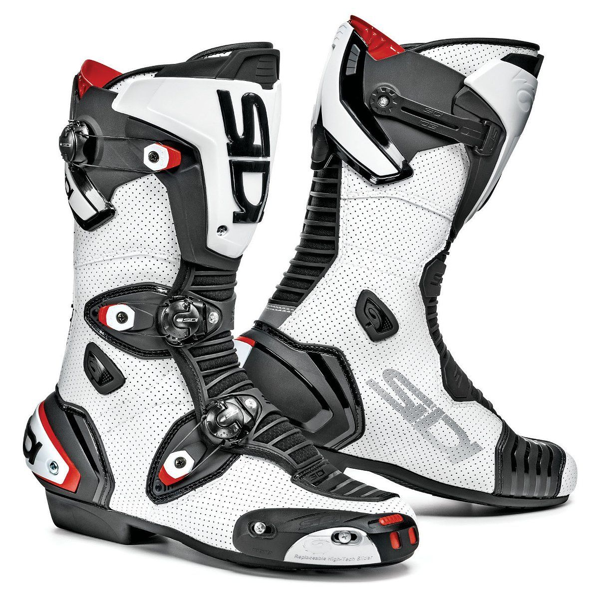 Size 43 Sidi MAG-1 Motorcycle Boot Yellow Fluo//Black