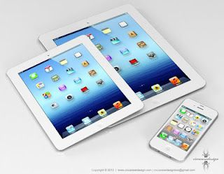 """iPad Mini, rumored to be 7.5"""" & $200-$250.. available October"""