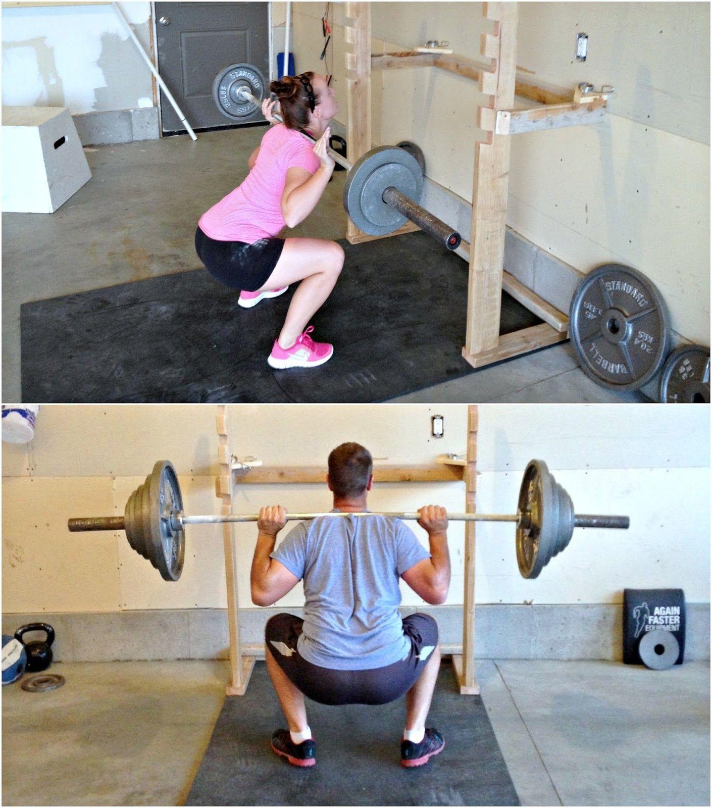 Fitness Equipment World Edmond Ok: DIY Squatrack And Pull Up Bar