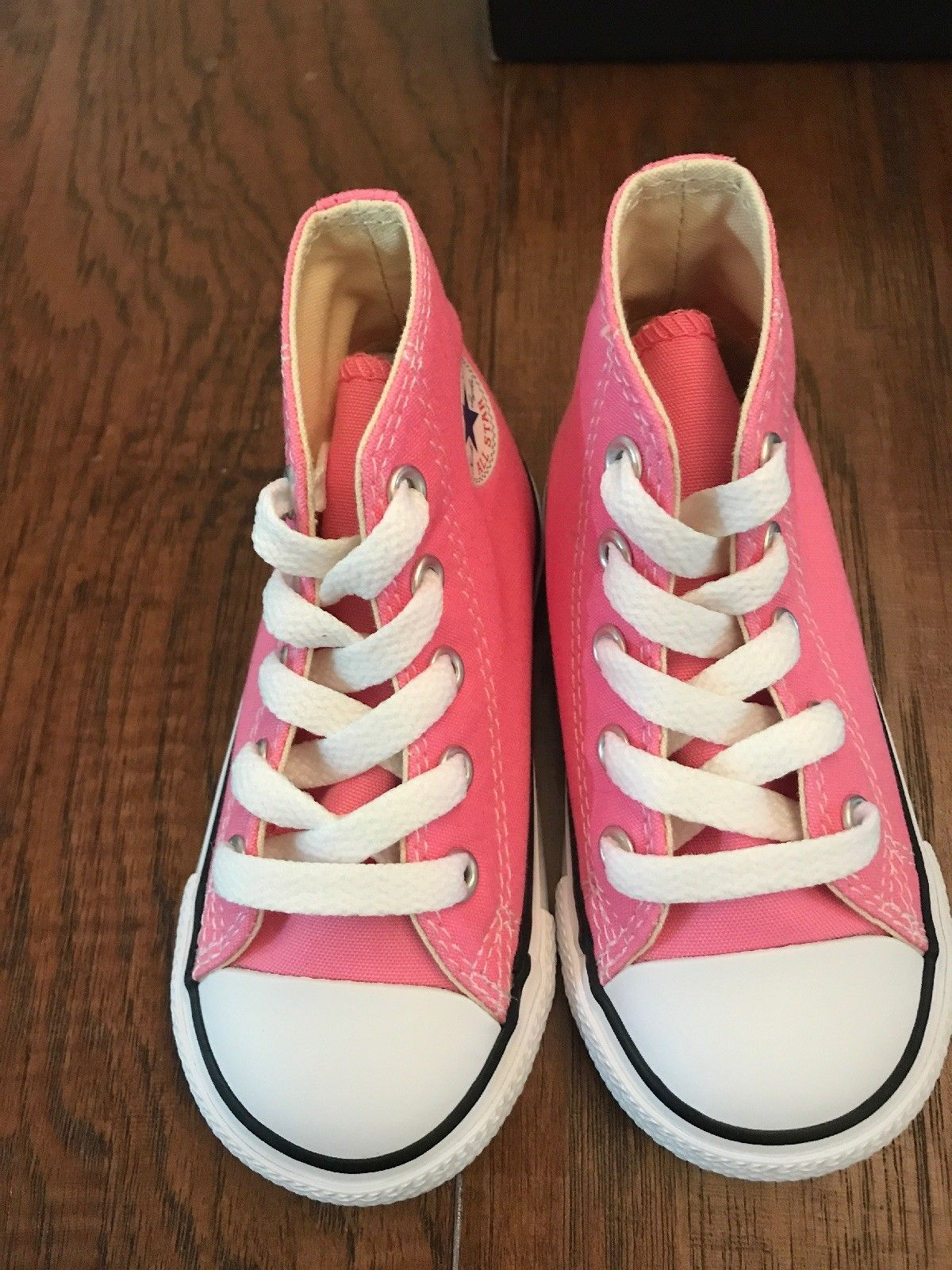 1f73ad71b37f NEW Infant Toddler Converse Chuck Taylor All Star Hi High Top Pink 4 6 8 9
