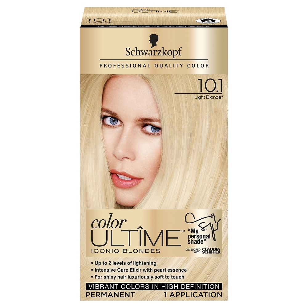 Schwarzkopf Color Ultime Iconic Blondes Hair Color 10 1 Light