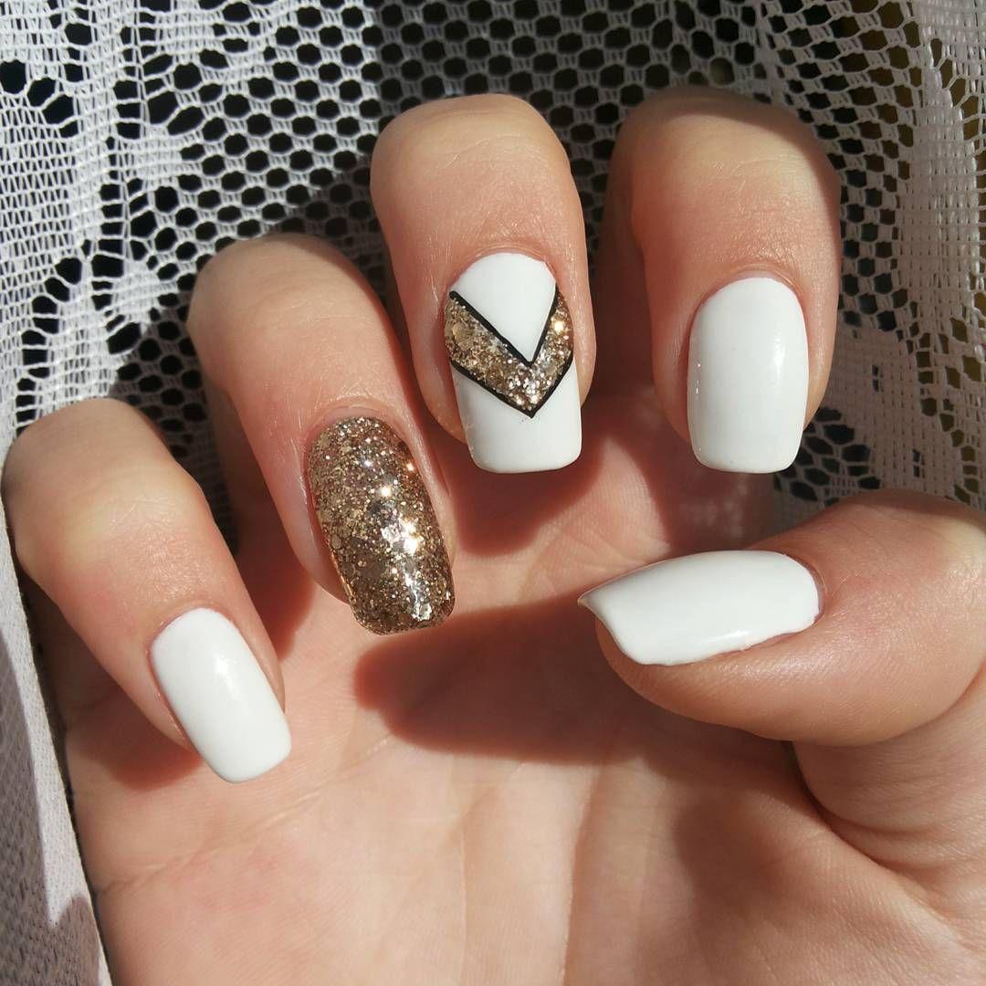 White Nail Ideas | White Nails | Pinterest | White nails