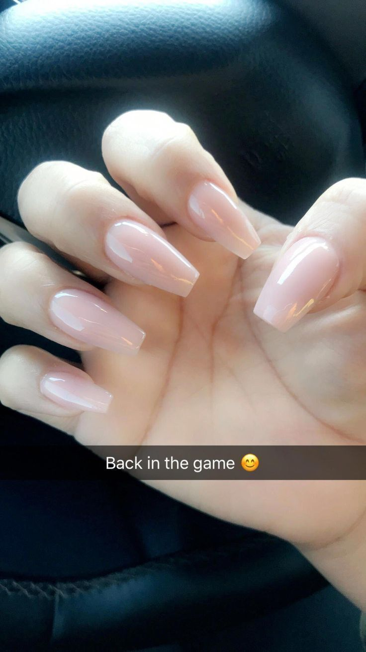 #AcrylicNailsNatural #Love #Nails #natural Acrylic Nails #Nude – #acrylic #acrylicnailsnatur … - Liva's Blog