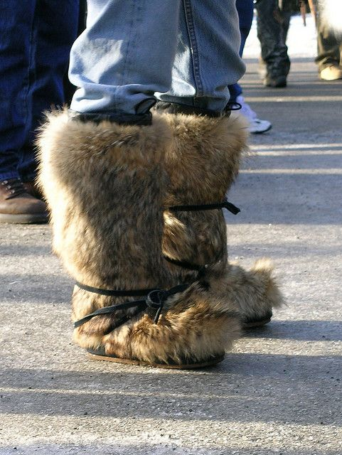 Mukluks by akseabird, via Flickr