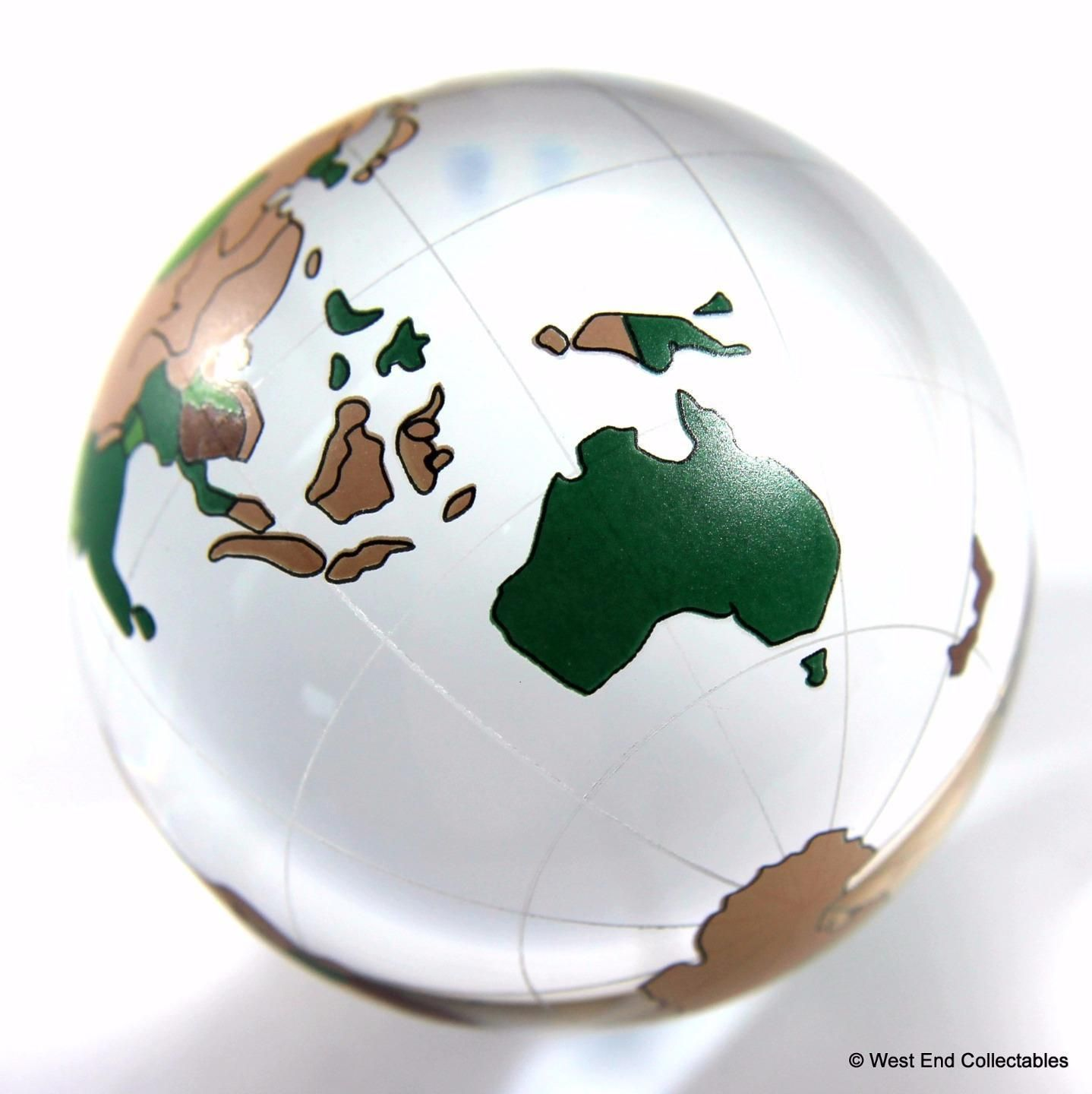 Massive 60mm 24 world map glass globe marble detailed planet earth gumiabroncs Gallery