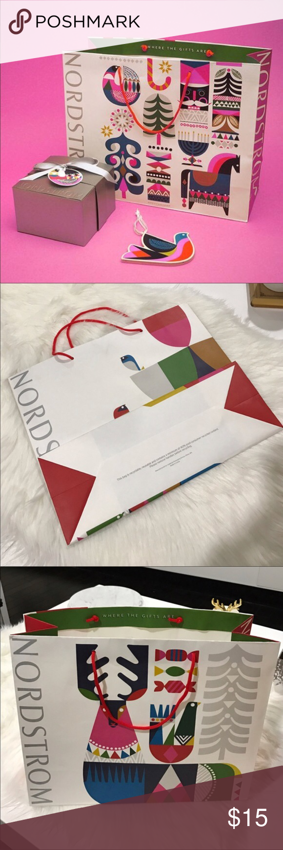 Nordstrom Holiday Gift Bag Set 4 Items (With images ...