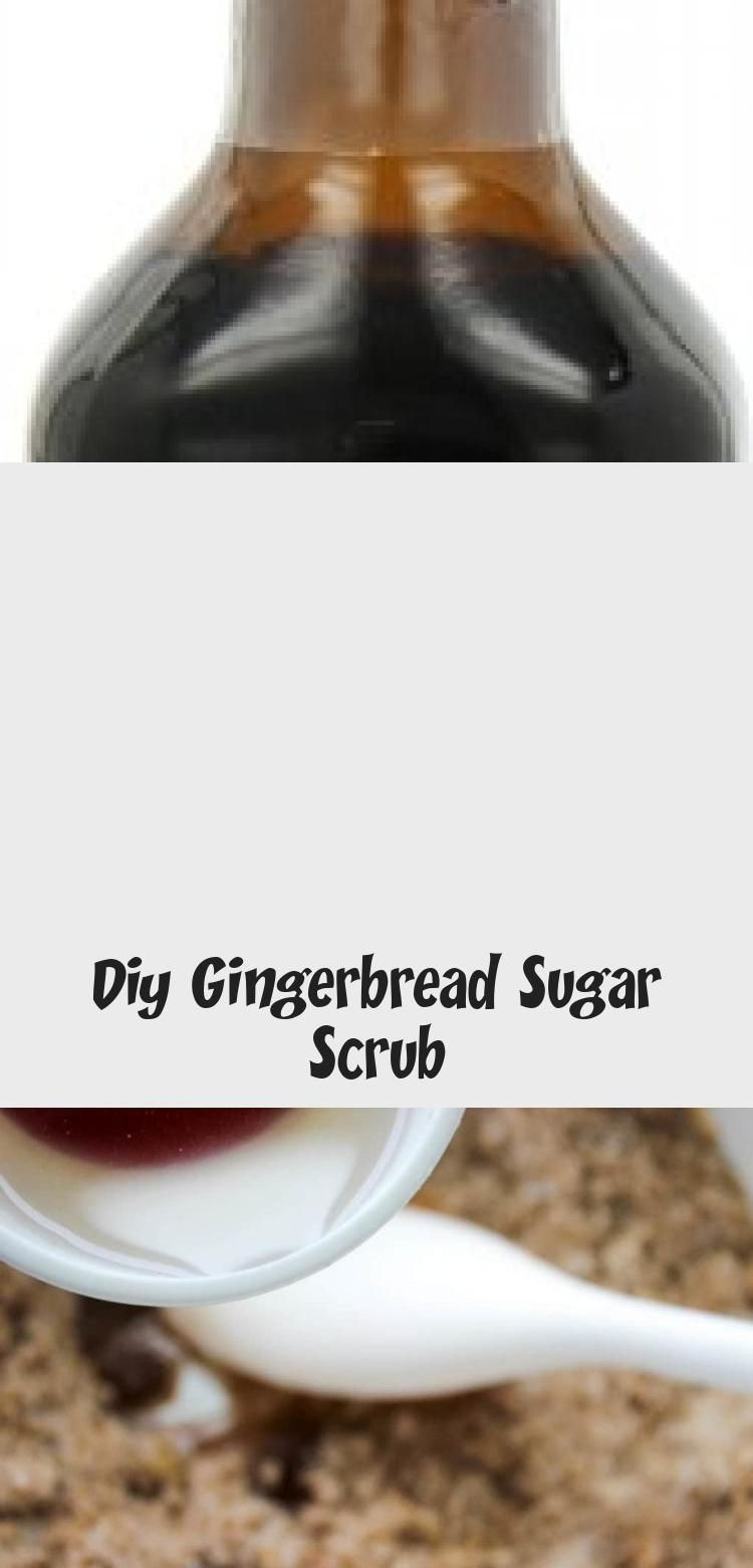 DIY Gingerbread Sugar Scrub - includes printable labels. Great homemade Christmas gift idea! #winterrecipeideas #sugarscrubrecipe