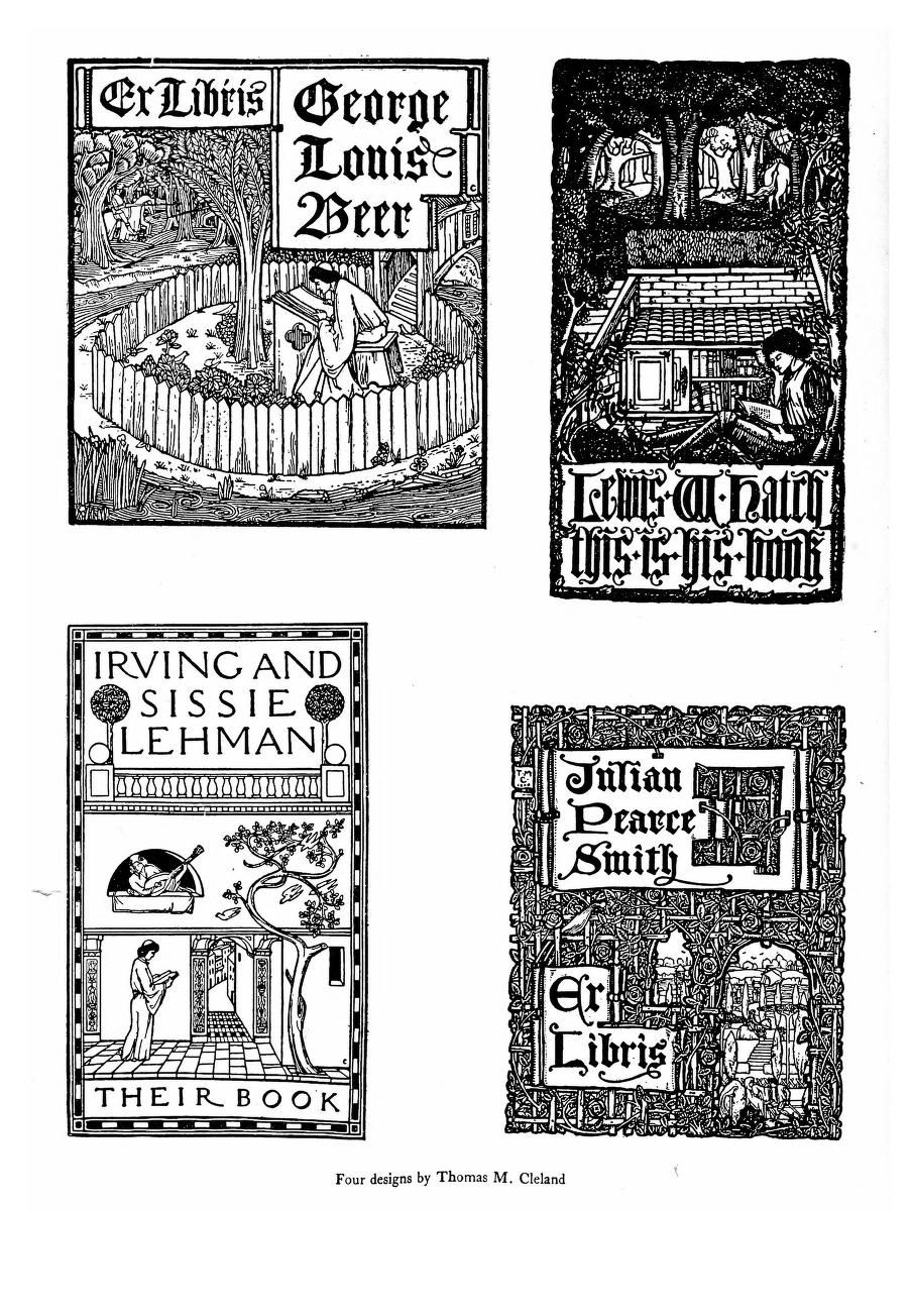 Book-plates of to-day;