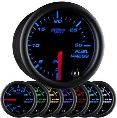 52mm Glowshift Black 7 30psi Diesel Fuel Pressure Gauge 5 9l Cummins Gs C711 30 Ebay In 2020 Fuel Pressure Gauge Pressure Gauge Gauges