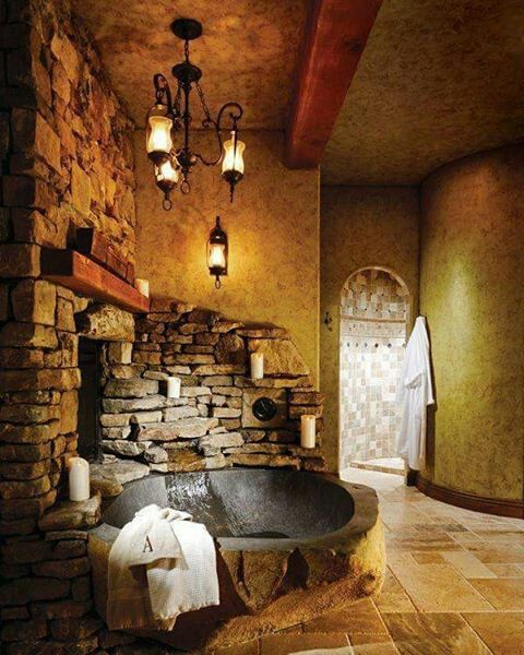 Bewitching Bathrooms  Coolio  Home Decor Home Rustic