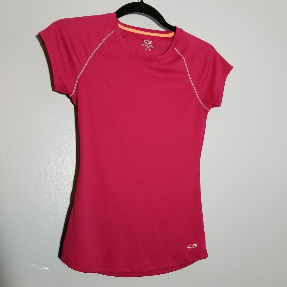 C9 by Champion women's semi-fitted pink athletic tee shirt size XS ...