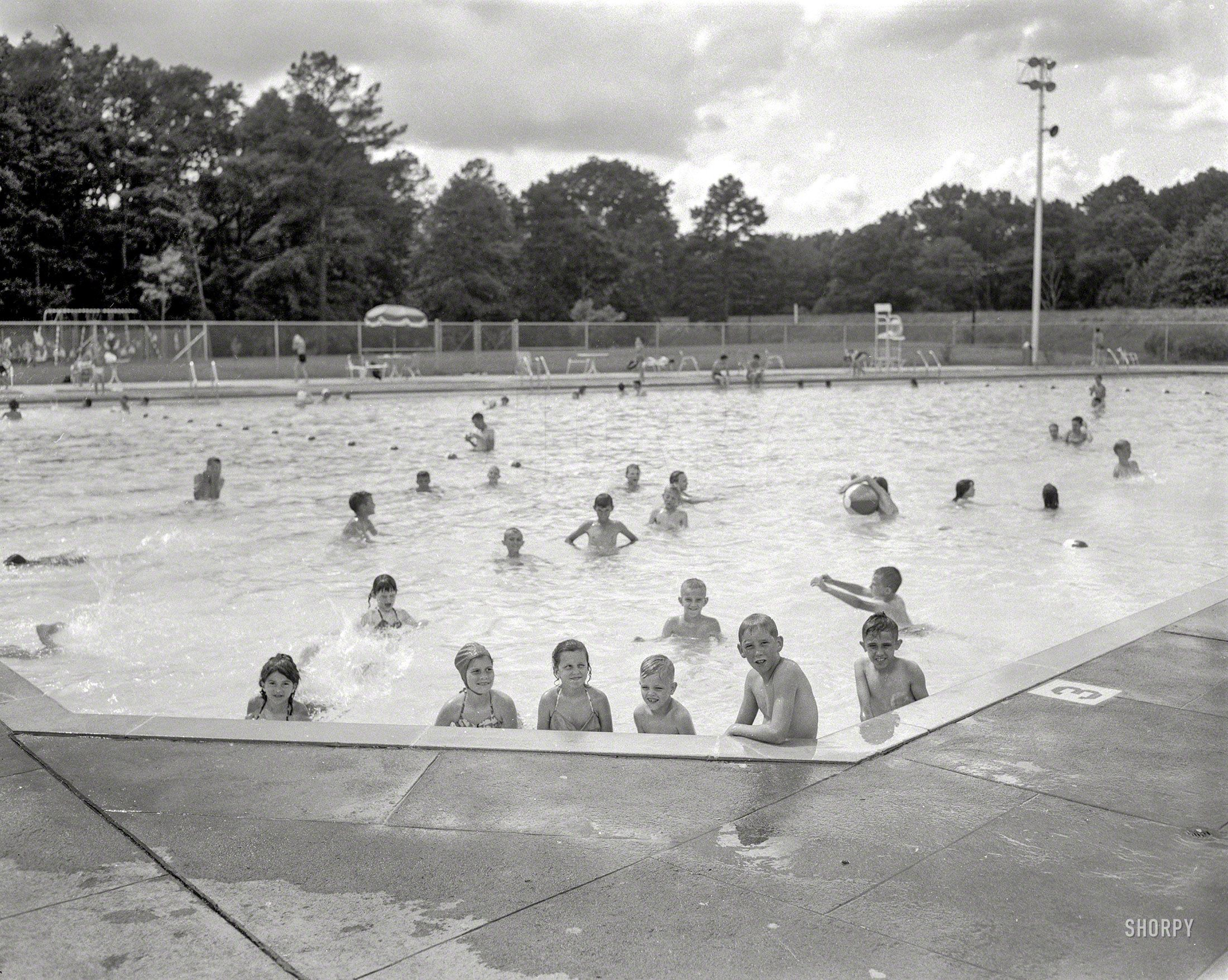 Public Pool 1960 High Resolution Photo Photo Posters Photo Framed Poster Art