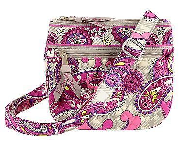 Vera Bradley Little Flap Hipster in Paisley Meets Plaid