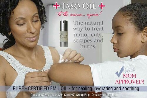 Iaso Oil, great for cuts, scrapes, aches and pains. Absorbs down into skin, 7 layers deep for pain relief. Orders yours today, iasotea.com/4128051