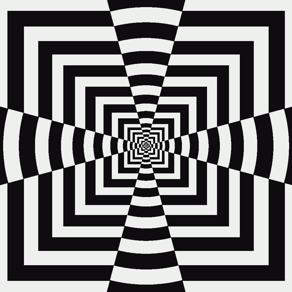 easy optical illusions - 736×736