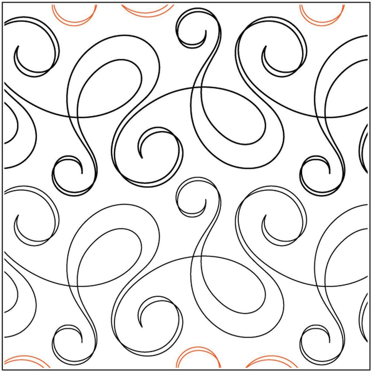 Quilt Stencils By Natalie Gorman Bossa Nova 7.5in   lenceria bebe ...